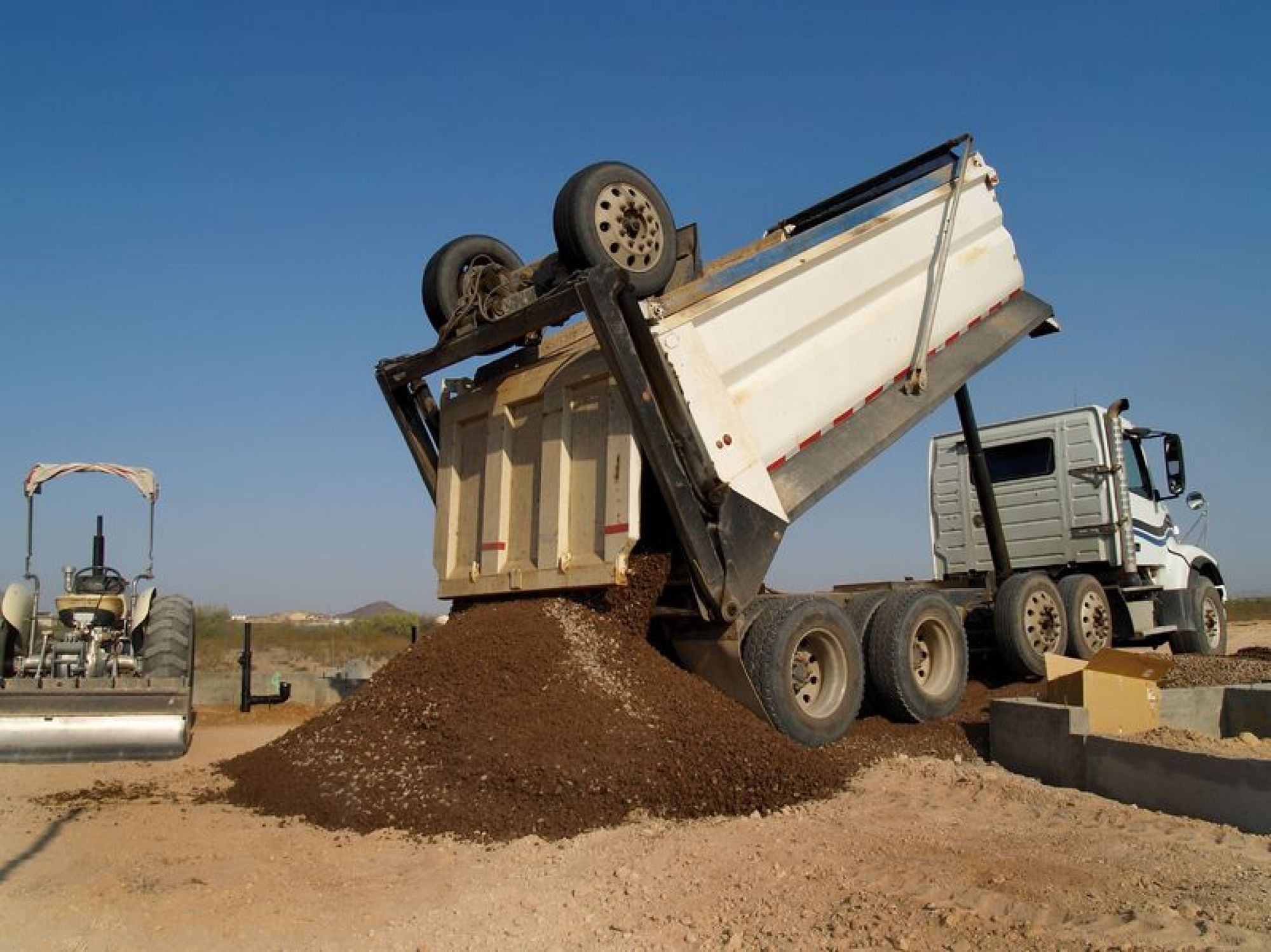 Dump Truck Insurance -  Houston, TX.